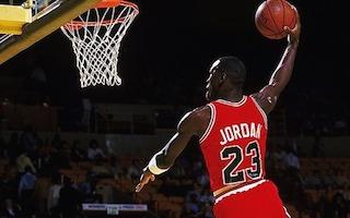 Dunk de michael Jordan