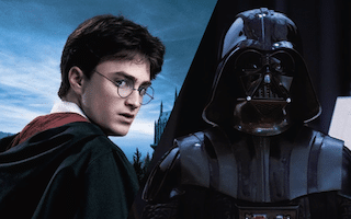 Harry potter et dark vador