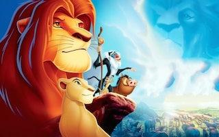 Simba dans le roi lion