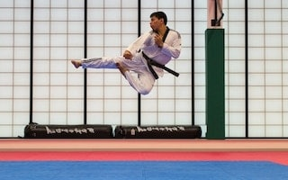 Karatéca jump