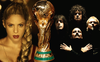 Shakira et queen world cup